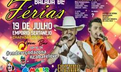 Nesta sexta tem Balada de Férias na Empório Sertanejo com a dupla Brenno & Matheus