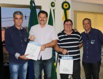 Prefeito João Carlos Krug se reúne com representantes do Hospital de Base de São José do Rio Preto