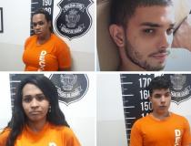 Três travestis e dois homens são suspeitos de assaltar clientes que marcavam programas com eles, em Goiânia