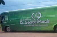 Ônibus da Clínica Móvel realizará exames em Chapadão do Céu