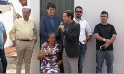 Presos costroem casas para doar às famílias de vítimas de violência em Cachoeira Alta - GO
