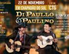 Vem ai em Chapadão do Sul o mega show de Di Paulo e Paulino, realização Elton Silva