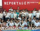 Escola Dona Amélia apresentou palestra sobre Reportagem aos alunos
