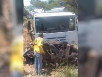 Policial militar fica gravemente ferido em acidente na GO-214, em Pontalina