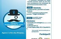 Novembro Azul: inscrições abertas para exame PSA