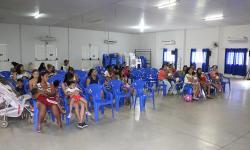 Secretaria Municipal de Assistência Social realizou confraternização de natal com as famílias do Programa Criança Feliz