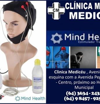 Clinica Medicèu tem o revolucionário aparelho Mind Health usado para vários tratamentos