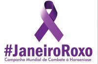 "Secretária de saúde realiza a campanha ""Janeiro Roxo, Todos Contra a Hanseníase"