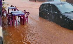 Estância Turística de Lagoa Santa é atingida por forte chuva