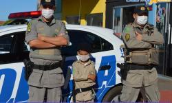 Hoje é um dia especial para o jovem Miguel Miguel, o Policial por um dia