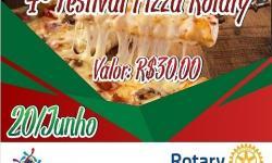 Rotary Club de Chapadão do Céu realizara o 4º Festival de Pizza