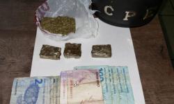 CPE prende  homem por tráfico de drogas e corrupção de menor em Chapadão do Céu