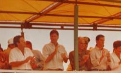 Gean Rubens Presidente da Câmara Municipal de Chapadão do Céu, homenagem a Maguito Vilela