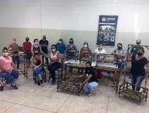 Prefeitura e Sindicato Rural realizam treinamento de Móveis de Bambu.