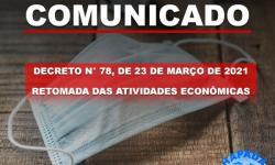 Prefeitura Municipal publica novo decreto