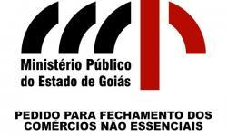 Ministério público solicita fechamento dos comércios não essenciais