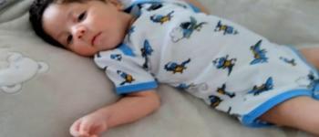 Bebê recém-nascido é curado da Covid-19 após ficar 11 dias na UTI, em Aparecida de Goiânia