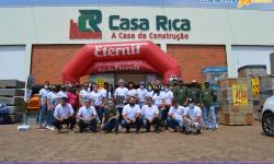 Casa Rica a casa da construção inaugurou em Chapadão do Céu - GO
