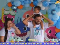 Murilo completou seu primeiro aninho com familiares em Costa Rica