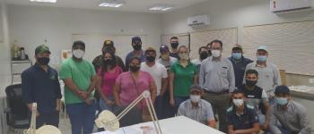 alunos do curso de Agronomia do pólo Unopar Chapadão do Céu  realizarão visita técnica ao laboratório de análises de sementes da empresa Uniggel Sementes