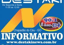 Destaki Informativo   31 de Julho de 2020