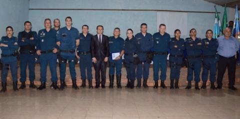 Câmara Municipal de Paraíso das Águas realizou Sessão Solene para homenagear 30 anos de carreira do militar Edson Furlanetti