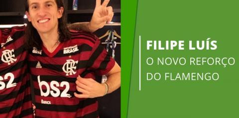Com foto de infância com camisa do Flamengo, Filipe Luís é anunciado: