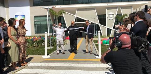 Globo inaugura o MG4, conjunto de 3 novos estúdios que amplia o maior complexo de produção de conteúdo da América Latina