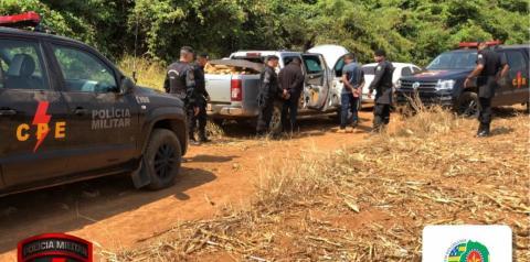 CPE apreende caminhonete carregada com cerca de uma tonelada e meia de maconha no sudoeste do estado