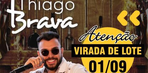 Esta chegando o Grande Momento em Chapadão do Sul o mega Show de Thiago Brava