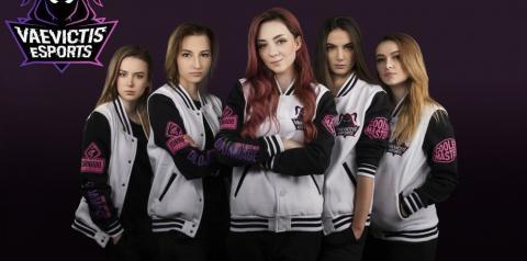 Vaevictis é o primeiro time feminino de LoL a jogar um torneio oficial
