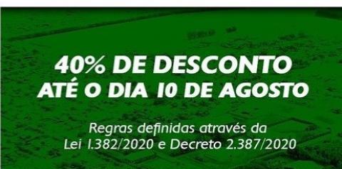 IPTU 2020 com 40% de desconto é prorrogado até agosto
