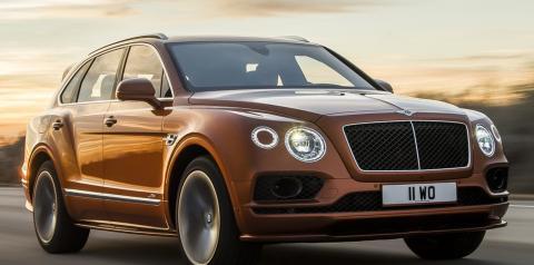 SUV mais rápido do mundo, Bentley Bentayga Speed vai de 0 a 100 km/h em 3,9 segundos