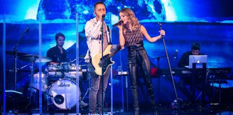 Sandy e Junior revelam que só ensaiaram duas vezes antes de gravar o 'Caldeirão'