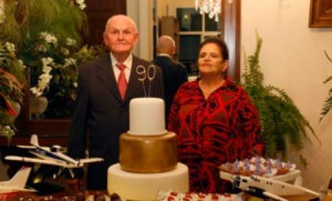 Em Chapadão do Sul Júlio Martins comemora 90 anos de idade