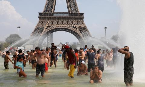 Bélgica, Holanda, França e Inglaterra registram recordes de altas temperaturas