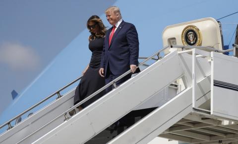 Em meio a protestos, Trump chega a Dayton, em Ohio, após massacre