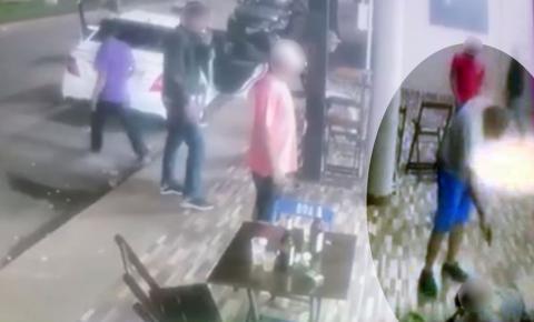 Homem mata outro a tiros em bar durante briga e é espancado logo depois em Campo Limpo de Goiás