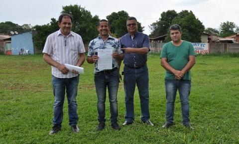 Prefeitura Municipal doa terreno para a ACICC