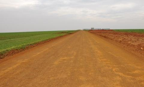 Rodovia municipal, CH 240 recebe manutenção
