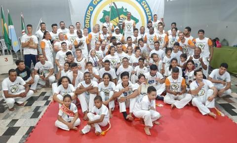 Escolinha municipal de capoeira participou do 12º Paranaíba open de capoeira no município de Paranaíba -MS