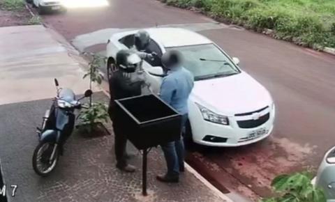 Empresário é baleado na cabeça durante assalto e sobrevive, em Rio Verde