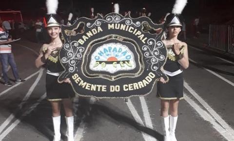 Semente do Cerrado vence campeonato de bandas e fanfarras