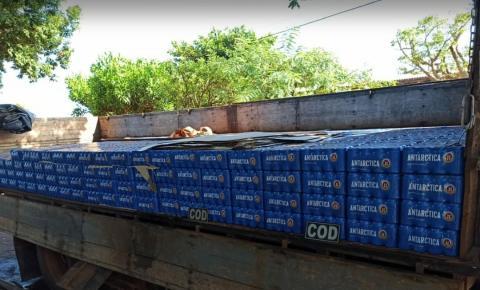 COD apreende carga de bebidas alcoólicas sem nota fiscal na região sudoeste do estado de Goiás