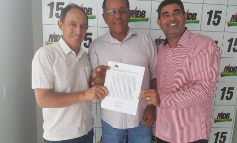 Bigico assume presidência do MDB de Chapadão do Céu
