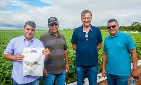 Vereadores participam do 8° Dia de Campo Cerrado Insumos Agrícolas