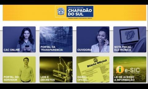 Contribuintes tem Canal direto com a Prefeitura na página CAC ONLINE