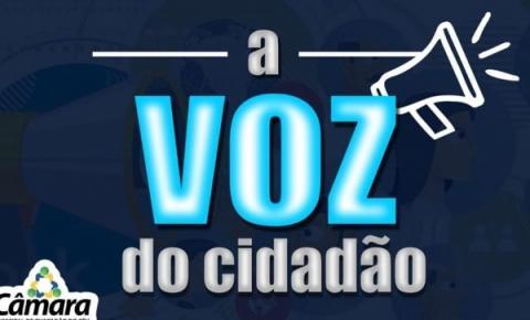A Voz do Cidadão – Egersivan Andrade solicita Quebra – Molas para o Bairro Acalanto