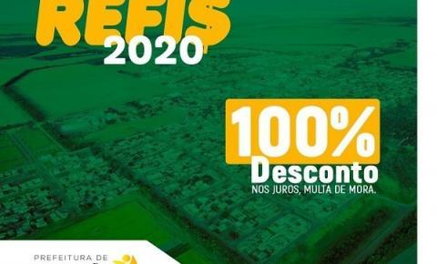 Refis 2020: Desconto de 100% sobre juros e multas