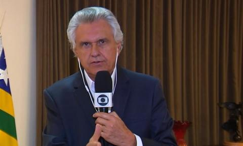 Caiado pede apoio para fechamento do comércio em Goiás: 'Cada prefeito vai responder pelo caos'